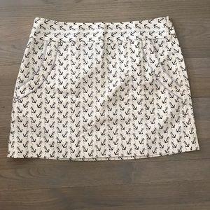 NWT JCrew Nautical Skirt